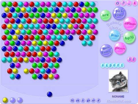 flash games bubble shooter