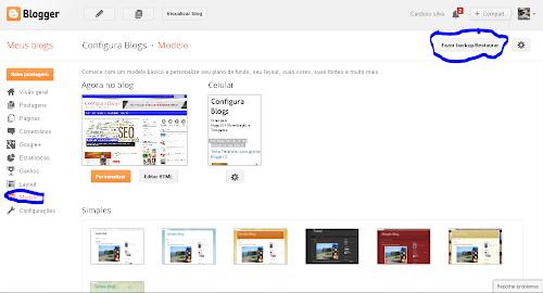 Como instalar template no novo Blogger e configurar