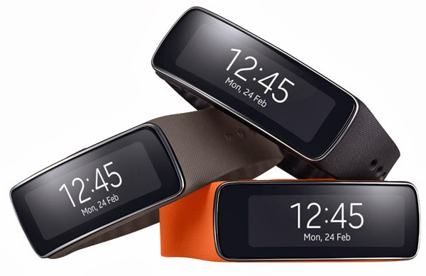 Samsung Gear Fit, una pulsera inteligente para amantes del ejercicio
