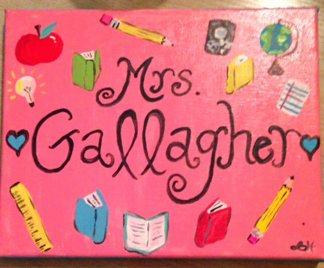http://www.teacherspayteachers.com/Product/Custom-Teacher-Sign-Hand-Painted-on-Canvas-1337000