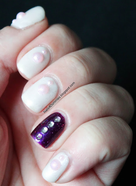 Frosty Purple Mani