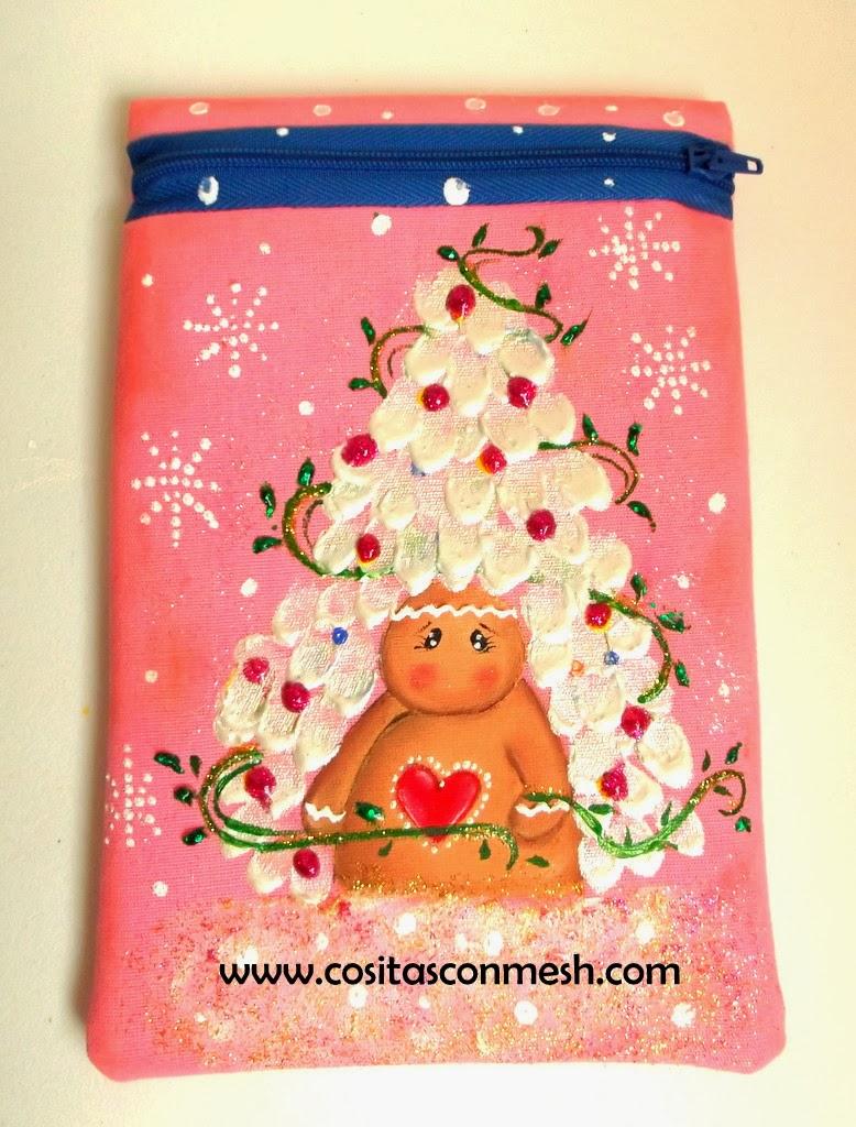Regalos navide os pintados a mano cositasconmesh - Regalos navidenos hechos a mano ...