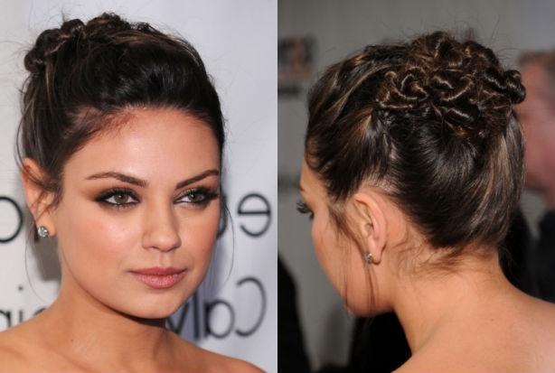Mila Kunis Hair Updos