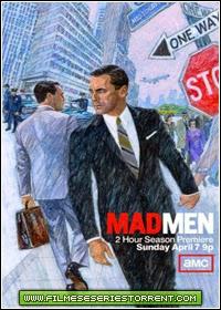 Mad Men 1ª, 2ª, 3ª, 4ª, 5ª, 6ª, 7ª Temporada Torrent Legendado
