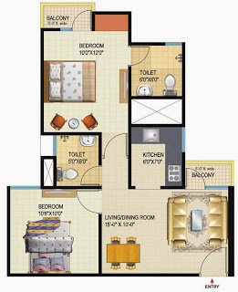 Amrapali Dream Valley High-Rise :: Floor Plans