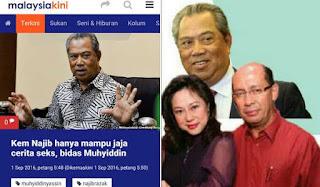 Nika Gee: Bila Muhyiddin Nak Saman Tengku Sarifuddin?