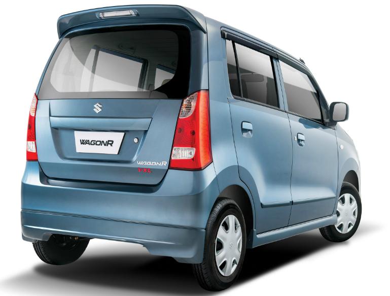 WagonR 2014 Suzuki Blue