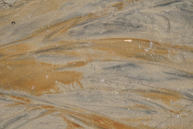 marbled sand