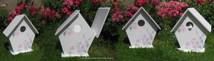 nappes en f te d co table nappe papier tirelire de mariage en forme de nichoirs oiseaux. Black Bedroom Furniture Sets. Home Design Ideas