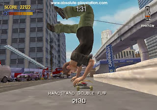 Tony Hawks Pro Skater 2 gameplay