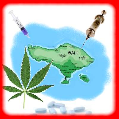Bali is the purpose of drug trafficking