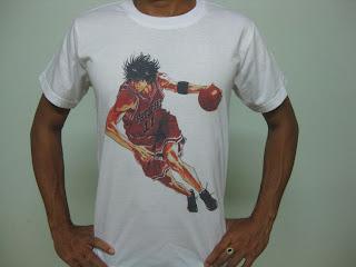 Chuyên áo in truyện tranh Nhật Bản, áo in Manga, áo in Slam Dunk giá tốt - 9