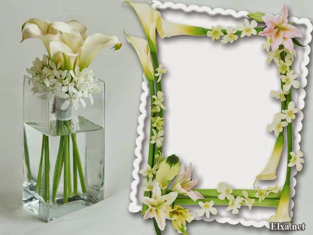 flower frame wedding frame