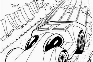 Racing car coloring pages hot wheels coloring pages
