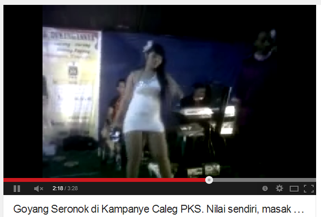 video kampanye PKS di vimeo
