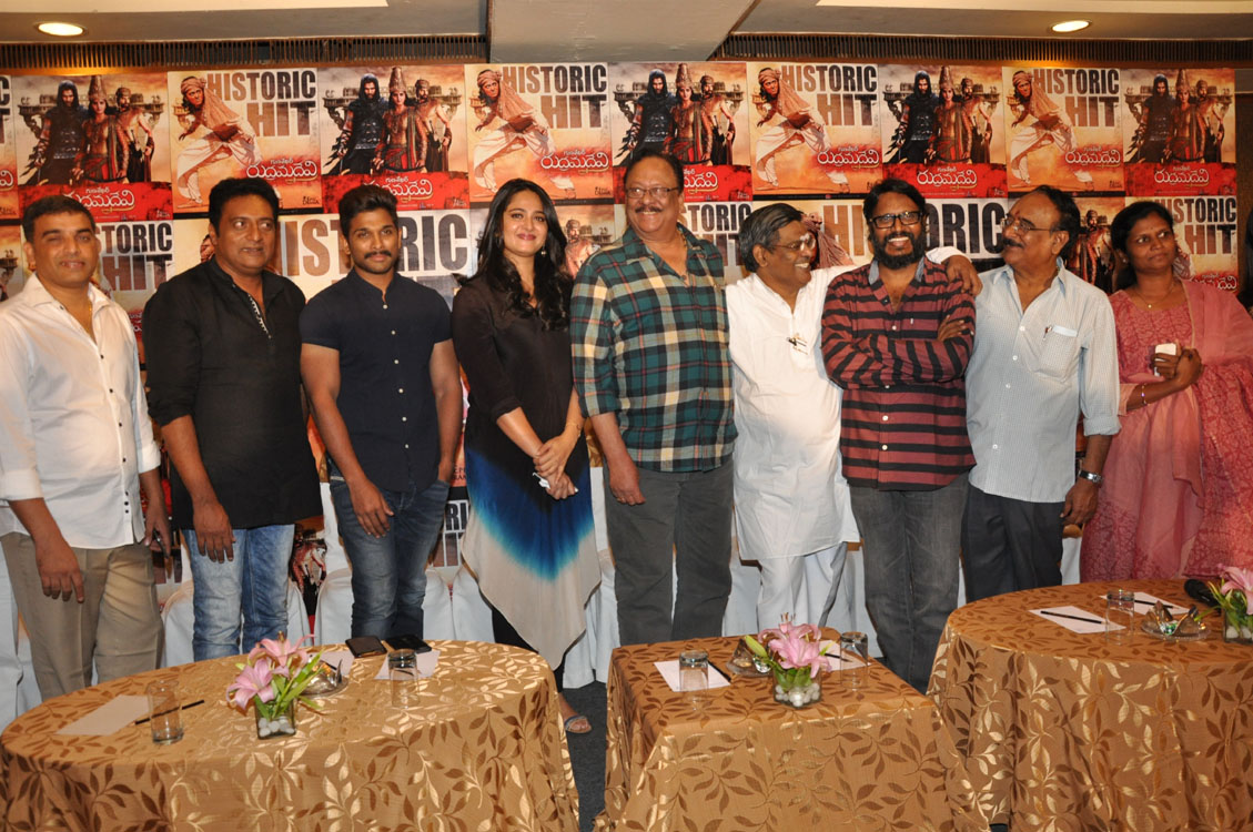 Rudramadevi movie success meet photos-HQ-Photo-5