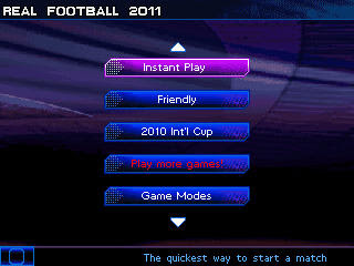 Real Football 2011 buatan perusahaan game terkenal, Gameloft.