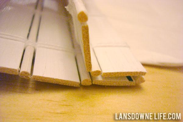 How To Shorten Woven Bamboo Shades Lansdowne Life