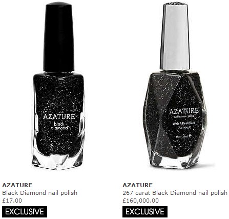 Azature The Worlds Most Expensive Nail Polish