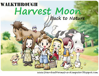 BUKU PANDUAN GAME HARVEST MOON BACK TO NATURE EBOOK PDF