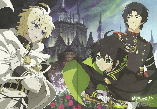 Seraph of the End Jump Special Anime Festa 2015