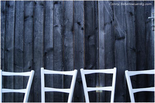 weiße Shabby Chic Stühle