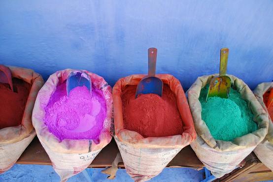 I colori del marocco dettagli home decor