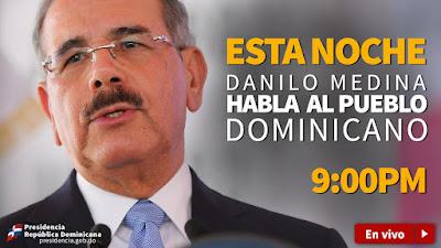 Más de 400 medios difundirán discurso del presidente Danilo Medina
