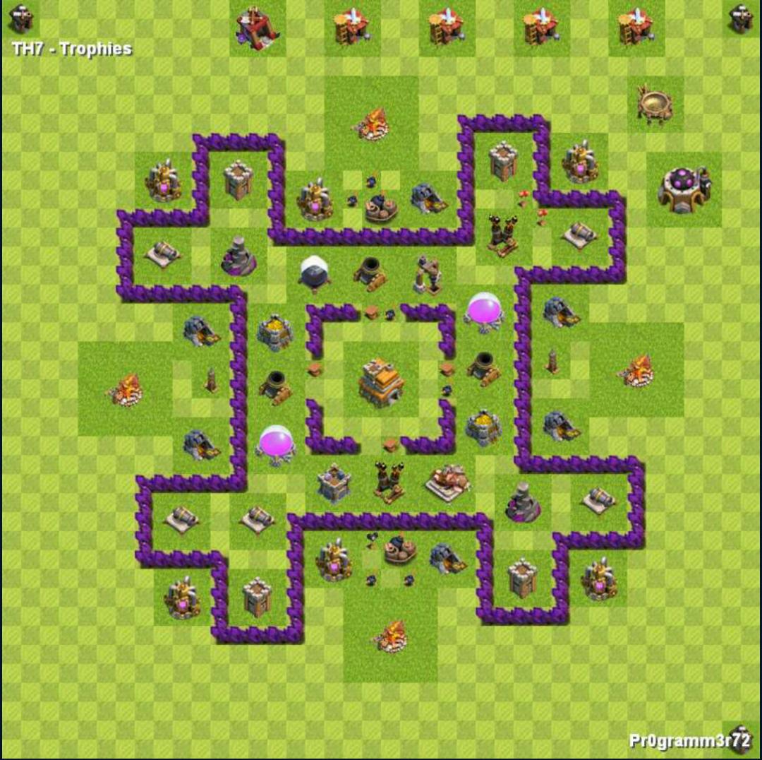 centro da vila nivel 7  melhor layout