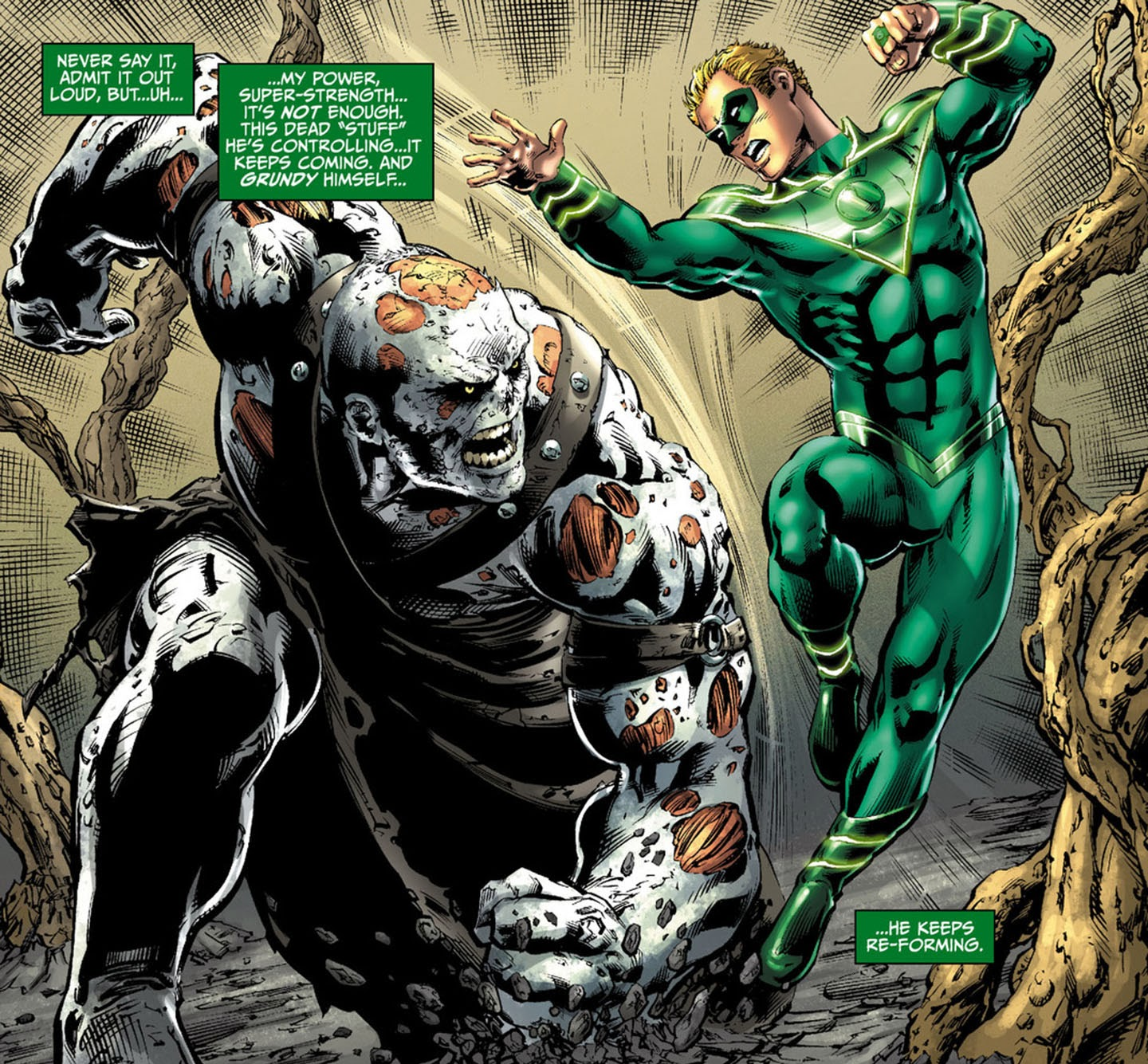 The Brightest Day The Blackest Night: CHARACTER CLOSE-UP