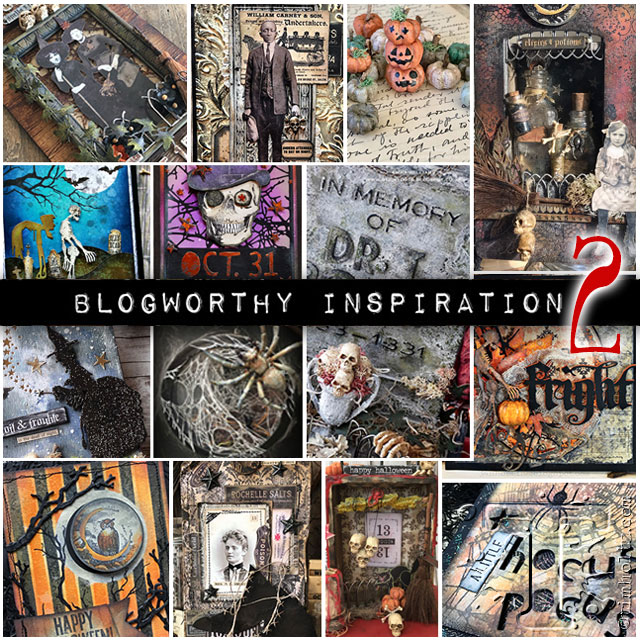 Selected by Tim Holtz for Blogworthy Halloween Inspiration 2018
