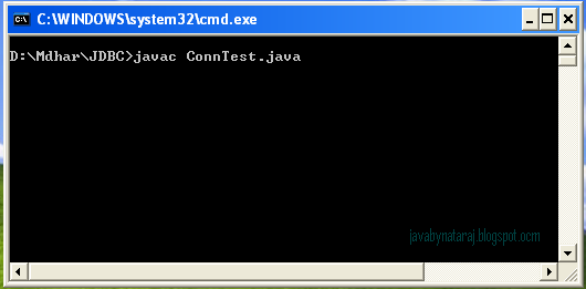 Oracle JDBC Connection Test Output_001