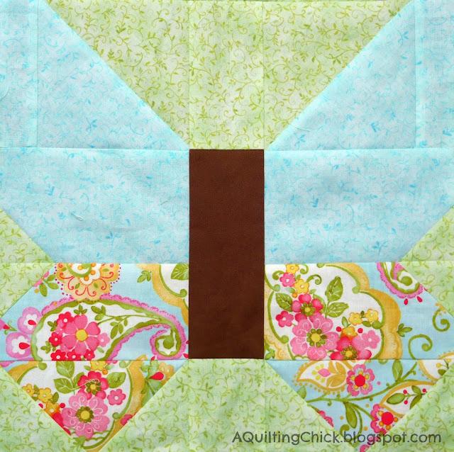 Butterfly Trellis - Butterfly Block