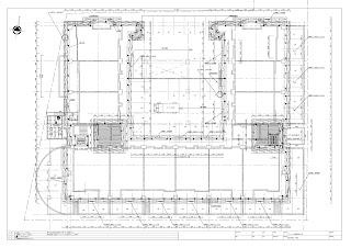 マンション大規模改修工事 仮設計画図 インチサイズ