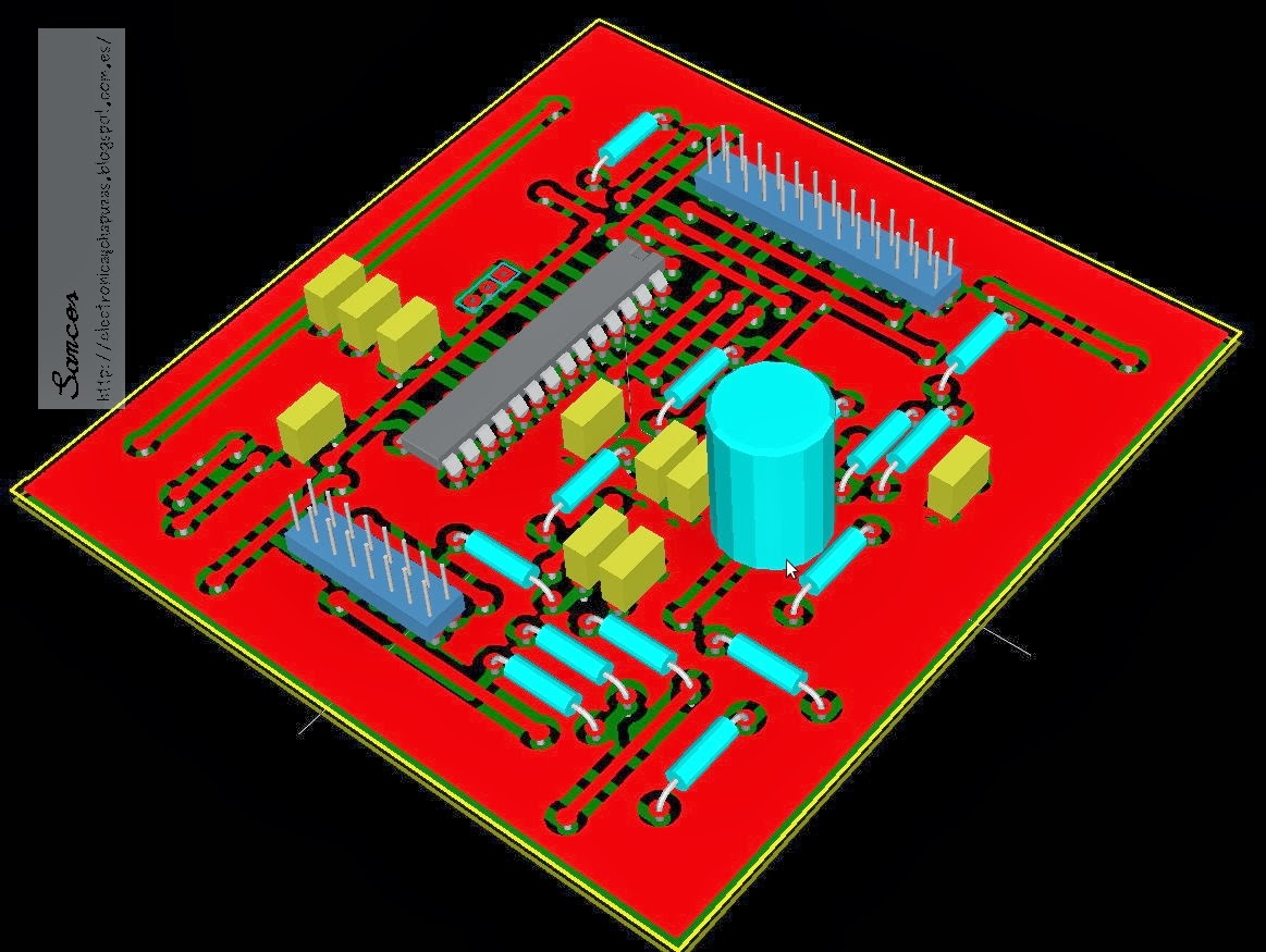 Nv to eba 3d printed circuit board