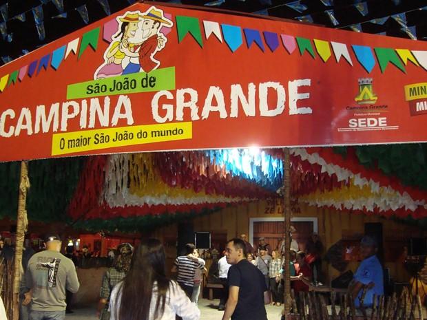 Atrações Festa Junina Campina Grande 2014
