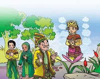 cerita rakyat Putri Rainun dan Rajo Mudo