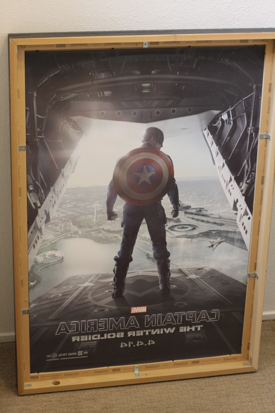 GEEK DIY BAM MOVIE POSTER LIGHT BOX DIY PART 2 OUTSIDE FRAME
