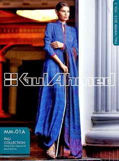 Gul Ahmed Pali Collection Winter 2013