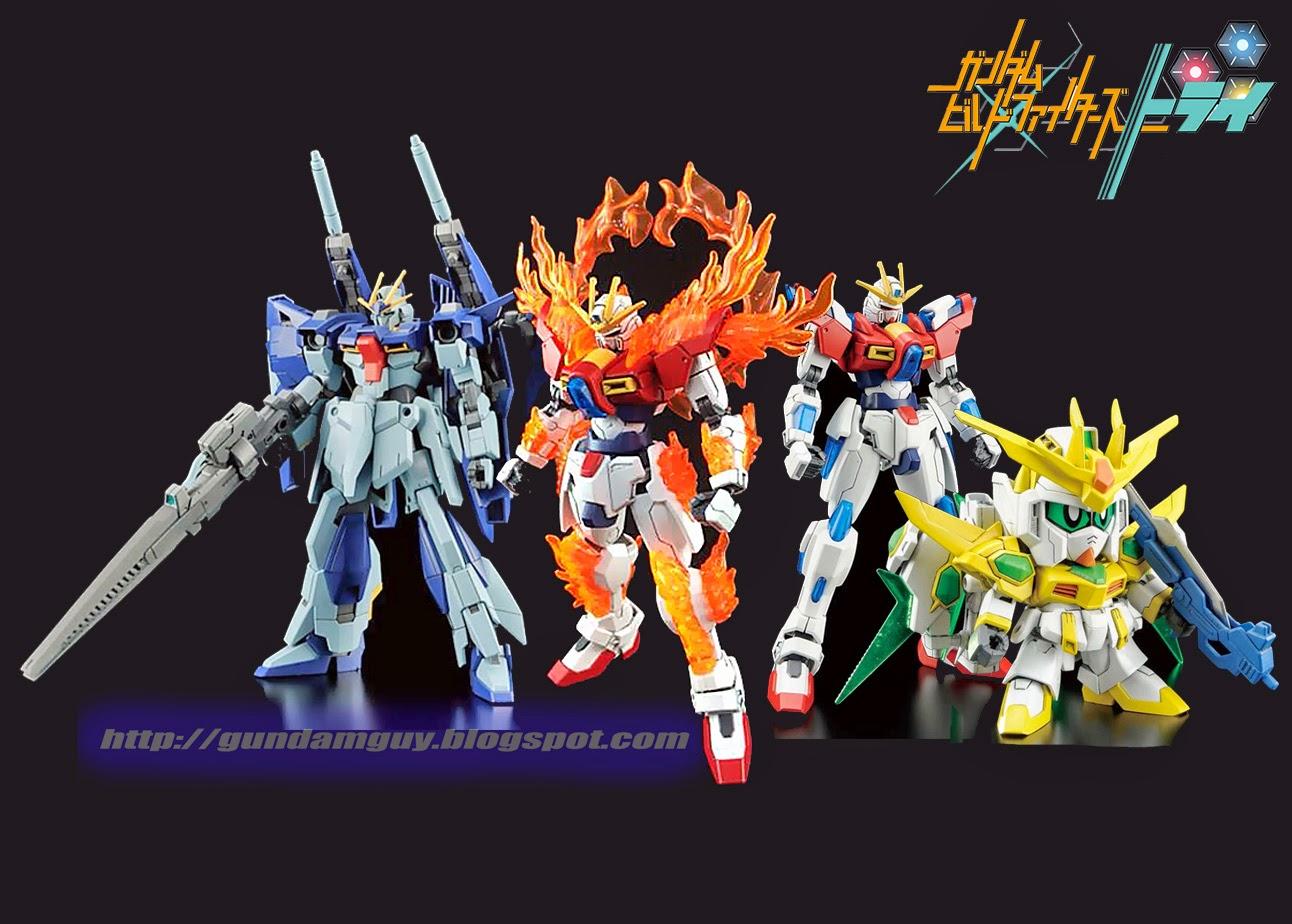 Gundam guy gundam build fighters try upcoming hgbf 1 for Domon kasshu build fighters try
