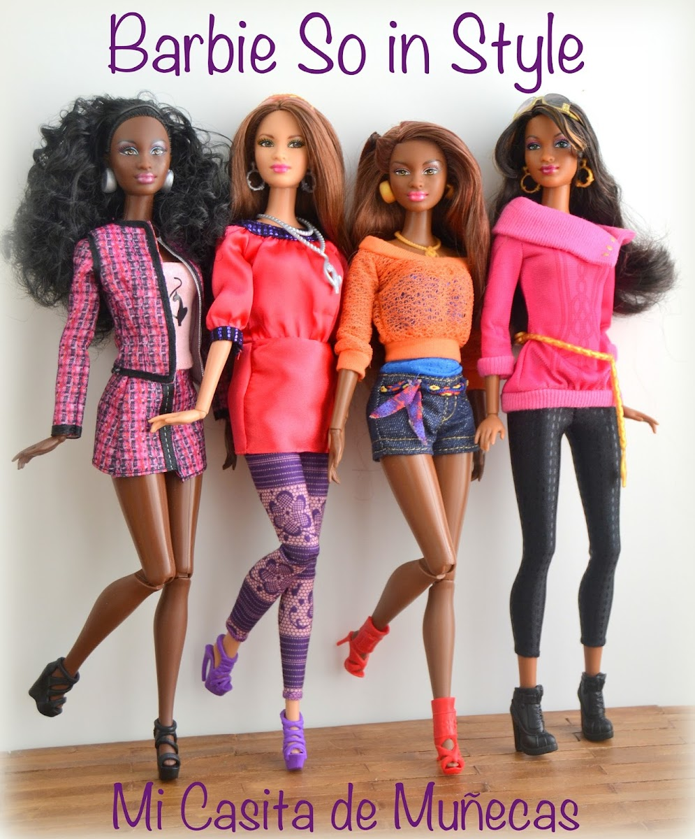 Barbie So in Style Baby Phat. Marisa, Chandra, Kara, Grace