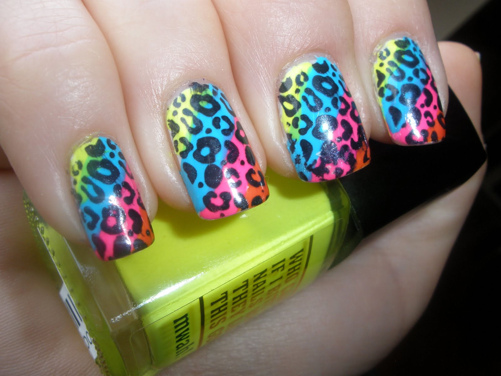 Cheetah Nail Designs - Pccala