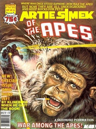 of the Apes Comics