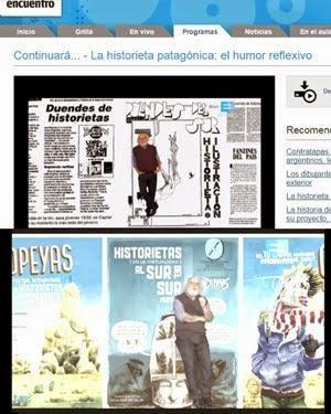La Duendes - Historieta Patagónica en Continuará, canal Encuentro