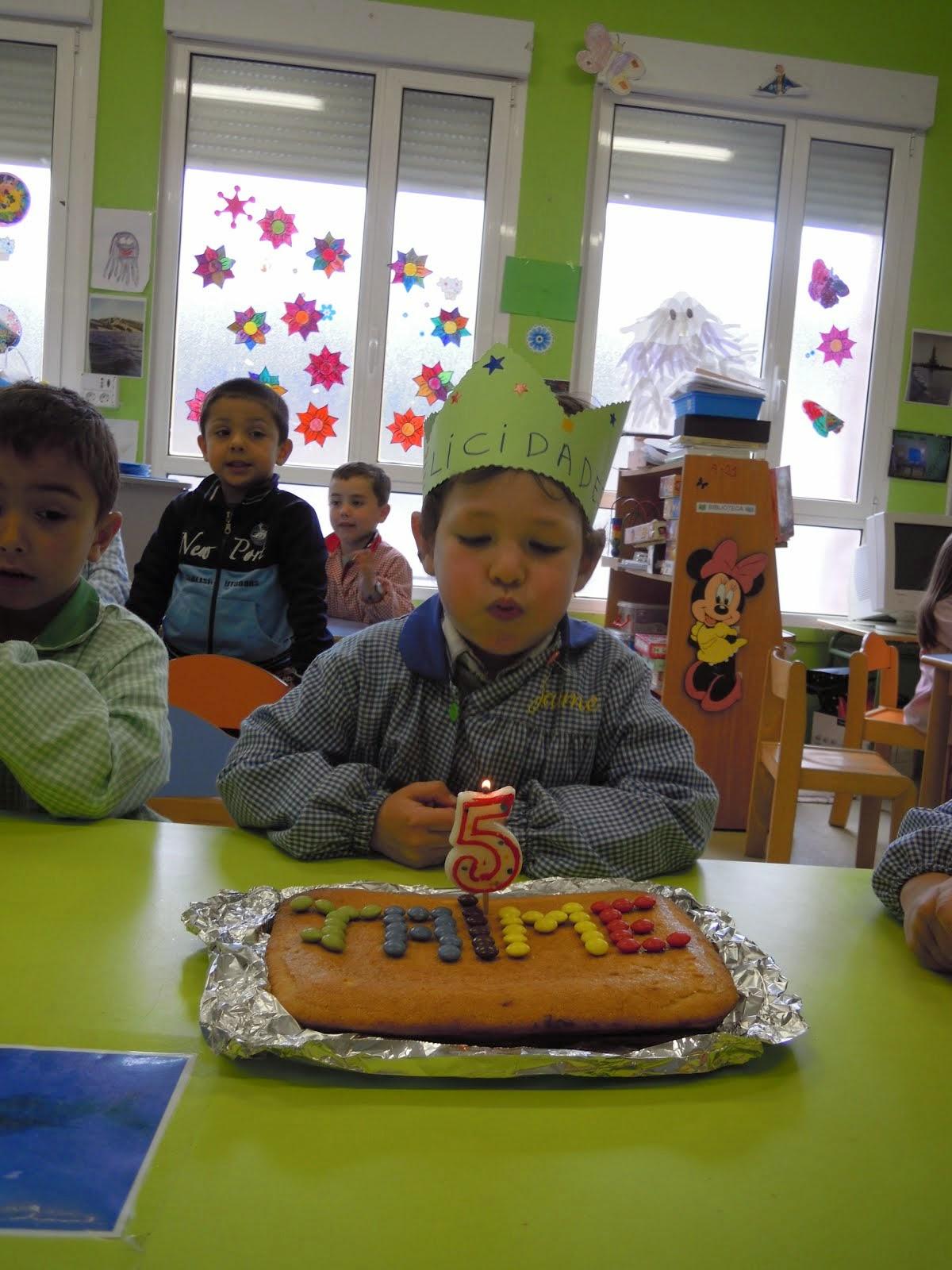 Cumpleaños de Jaime