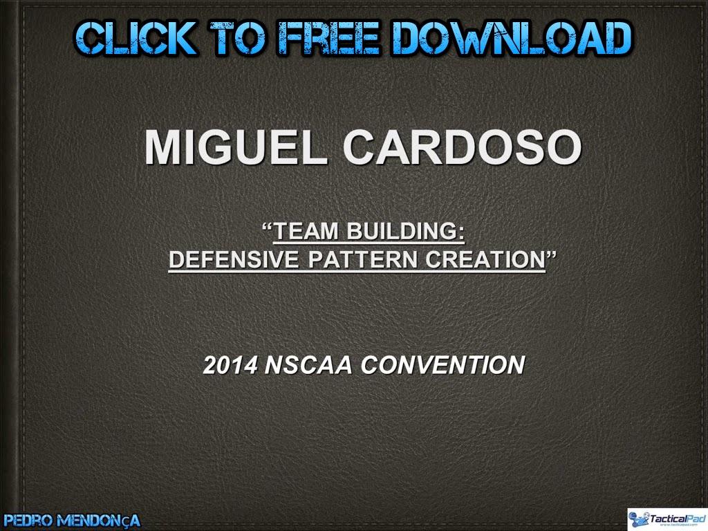 Miguel Cardoso - Defensive Pattern Creation