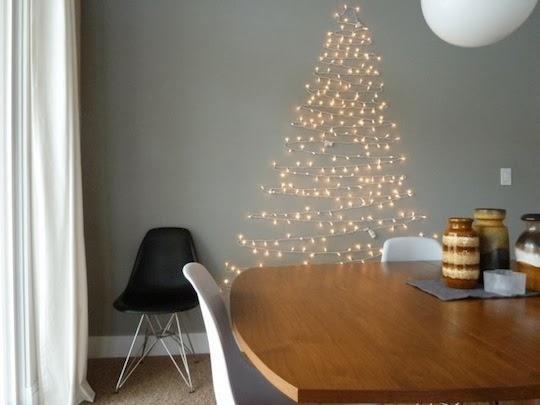 rbol de navidad hecho con papel de regalo - Arboles De Navidad Caseros