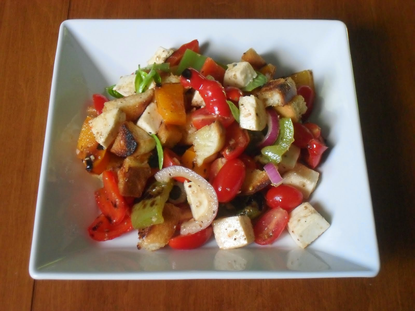 Mozzarella and Grilled Pepper Salad