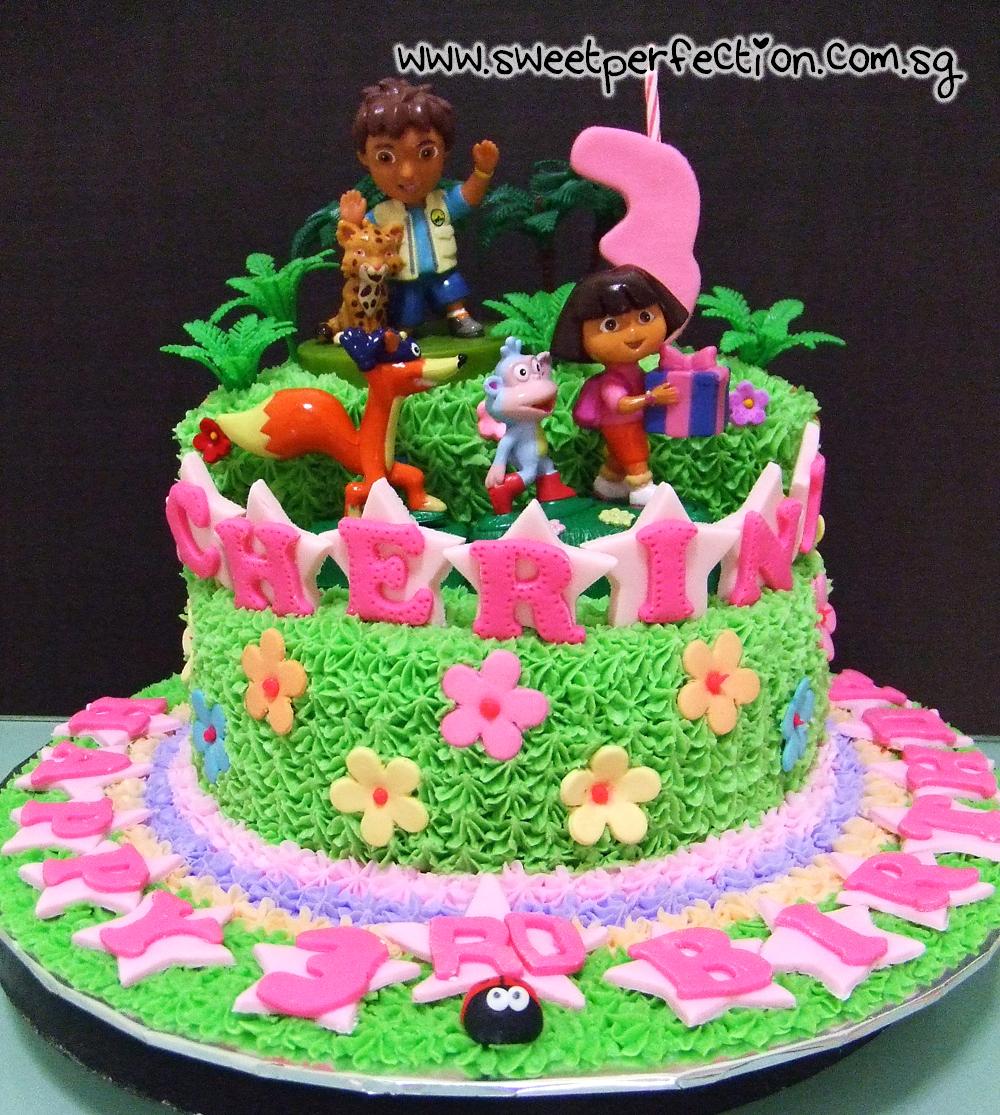 Sweet Perfection Cakes Gallery: Code Dora 04 - Dora ...