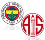 Fenerbahce Istanbul - Antalyaspor